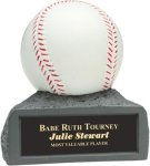 Baseball - Colored Resin Trophy Baseball/Softball Awards