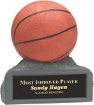 Basketball - Colored Resin Trophy Basketball Awards