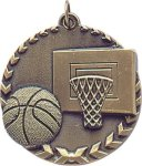 Basketball - Millennium Medal Basketball Trophy Awards