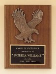 American Walnut Plaque with Eagle Casting Cast Relief Plaques as low as $22.40