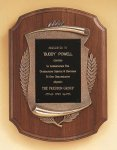 American Walnut Plaque with Antique Bronze Frame Cast Relief Plaques as low as $22.40