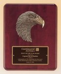 Antique Eagle Rosewood Piano Finish Plaque Eagle Plaques as low as $23.10