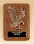 American Walnut Plaque with Eagle Casting Eagle Plaques as low as $23.10
