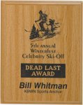 Oak Finish Plaques Economy Plaques  as low as $7.70