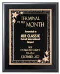 Black Finish Plaque Economy Plaques  as low as $7.70