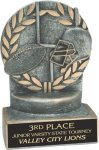 Football - Wreath Resin Trophy Football Awards