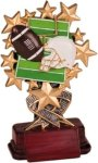 Football - Starburst Resin Trophy Football Awards