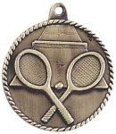 High Relief Medallion - Tennis High Relief Medallion Awards