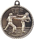 High Relief Medallion - Karate High Relief Medallion Awards