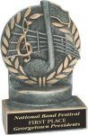 Music - Wreath Resin Trophy Music Awards