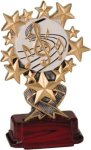 Music - Starburst Resin Trophy Music Awards