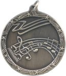 Music - Shooting Star Medallion Music Trophy Awards