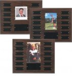 Cherry Finish Photo Perpetual Plaque Photo Perpetual Plaques