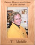 Red Alder Picture Frame Photo Perpetual Plaques
