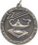 Lamp of Knowledge - Shooting Star Medallion Shooting Stars Medallion Awards