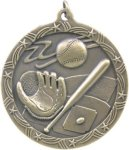 Baseball - Shooting Star Medallion Shooting Stars Medallion Awards