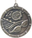 Swimming - Shooting Star Medallion Shooting Stars Medallion Awards