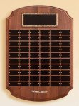 Solid American Walnut Perpetual Plaque Small and Medium Perpetual Plaques