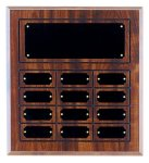 Cherry Finish Perpetual Plaque Small and Medium Perpetual Plaques