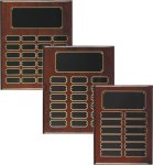 Rosewood Piano Finish Perpetual Plaque Small and Medium Perpetual Plaques