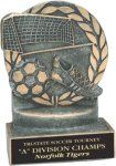 Soccer - Wreath Resin Trophy Soccer Awards