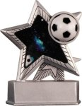 Soccer - Silver Star Motion Series Resin Soccer Awards