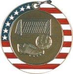 Soccer - Stars & Stripes Medallion Soccer Awards