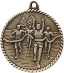 High Relief Medallion - Track Track Trophy Awards
