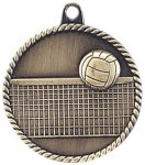 High Relief Medallion - Volleyball Volleyball Trophy Awards
