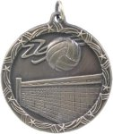 Volleyball - Shooting Star Medallion Volleyball Trophy Awards