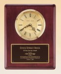 Rosewood Piano Finish Vertical Wall Clock Wall Clock Plaques as low as $44.80