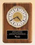 American Walnut Vertical Wall Clock. Wall Clock Plaques as low as $44.80