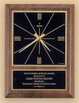 American Walnut Vertical Wall Clock with Square Face. Wall Clock Plaques as low as $44.80
