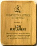 Genuine Walnut Elliptical Plaque with Rounded Corners Walnut Plaques as low as $13.65